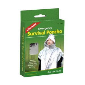 Coghlans Emergency Survival Poncho Mfg# 1390