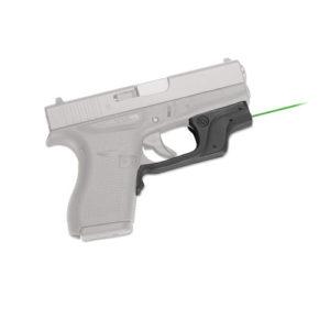 Crimson Trace Glock GEN4 42, 43 Green, BP Mfg# LG-443G-S
