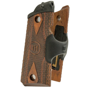 Crimson Trace 1911 Officer/Compact-Cocobolo Dmond Pttrn Mfg# LG-921