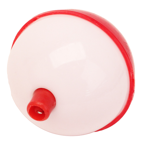 """Eagle Claw Snap-on Rd Floats 2"""" Bulk Red/Wht Mfg# 07140-006"""