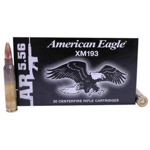 Federal Cartridge .223 (5.56) MilSpec 55gr FMJ /20 Mfg# XM193