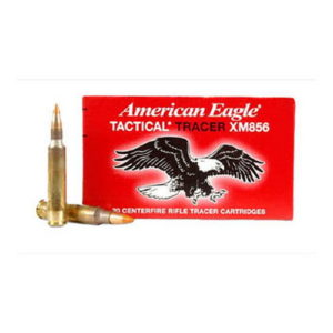 Federal Cartridge 5.56x45mm 64gr FMJ Tracer /20 Mfg# XM856