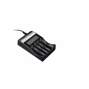 Fenix Flashlights Li-Ion 4-Bay Digital Multi-Charger Mfg# ARE-C2