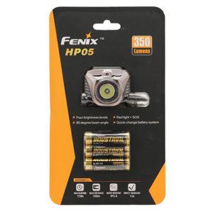 Fenix Flashlights 350 Lumens Fenix H Series,AA, Iron Gray Mfg# HP05GREY
