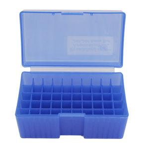 Frankford Arsenal #509,  243308 50 ct. Ammo Box  Blue Mfg# 160880