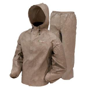 Frogg Toggs Ultra-Lite2 Rain Suit w/Stuff Sack LG-Kh Mfg# UL12104-04LG