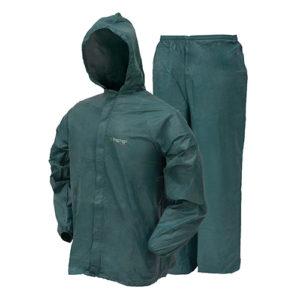 Frogg Toggs Ultra-Lite2 Rain Suit w/Stuff Sack LG-Grn Mfg# UL12104-09LG