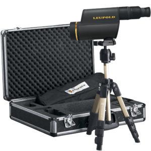 Leupold GR 12-40x60mm HD Kit Titanium Gray  Mfg# 120559