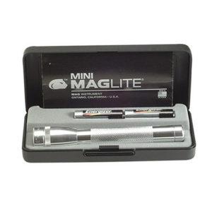 Maglite Mini Maglite AA Pres Box Silver Mfg# M2A10L