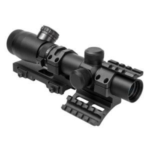 NcStar Shooter I Series 1.1-4X25 Blk Scp/Mil Dot Mfg# SEEFM11425GSPR-A
