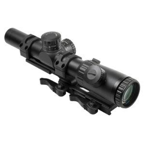 NcStar Evolution Series 1.1-4X24 Scope/P4 Sniper Mfg# VEVOFP11424GSPR-A