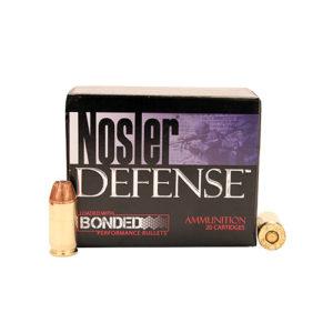 Nosler 45 ACP 230gr Bonded-JHP (20 ct.) Mfg# 39645
