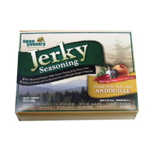 Open Country Jerky Spice 6-Pack - Andouille Mfg# BJA-6SK