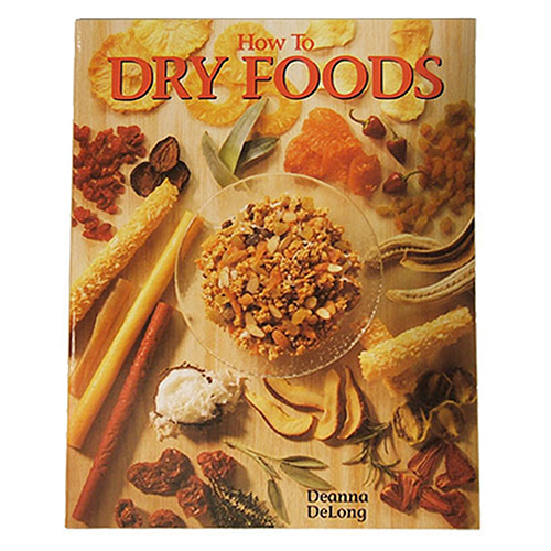 Open Country How to Dry Foods, Cookbook Mfg# HP-9