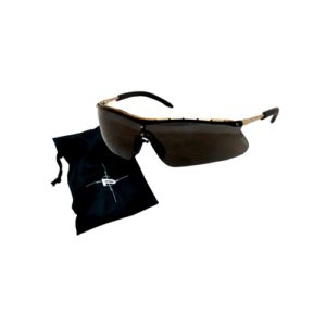 Peltor Metaliks Plus Shooting Glasses, Blk Frm Mfg# 97099-00000