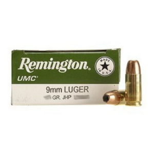 Remington 23728 UMC 9MM 115gr MC Mfg# L9MM3