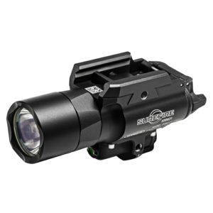 Surefire X400 Ultra Weapon Light w/Green Laser, Bk Mfg# X400U-A-GN