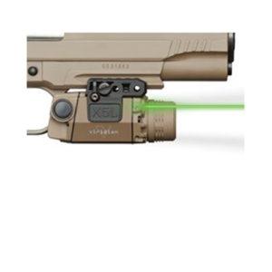 Viridian Green Lasers UnivMt GrnLsr w/ TactLight 160/190Lum FDE Mfg# X5L-FDE
