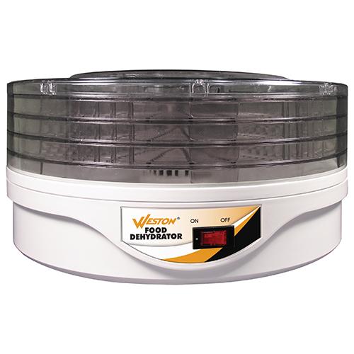 Weston Brands Food Dehydrator 4 Tray Round Mfg# 75-0601-W