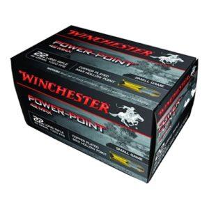 Winchester Ammo 22LR 42 Max Gr Powerpoint /50 Mfg# PP22LRH42U